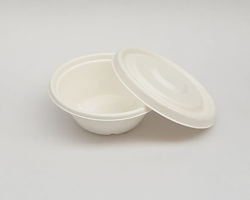 500 ml White Bowl With Lid